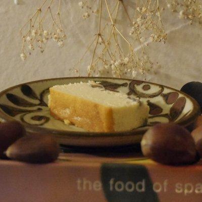 秋、冬は栗を使った『季節の深川チーズケーキ』