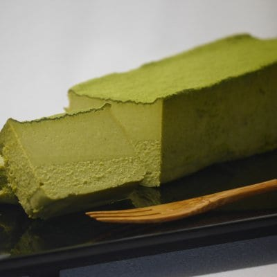 香り豊かな『抹茶のチーズケーキ』