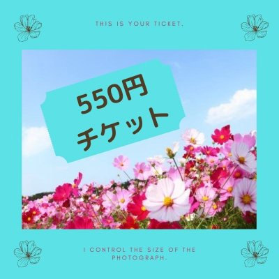 550円 チケット
