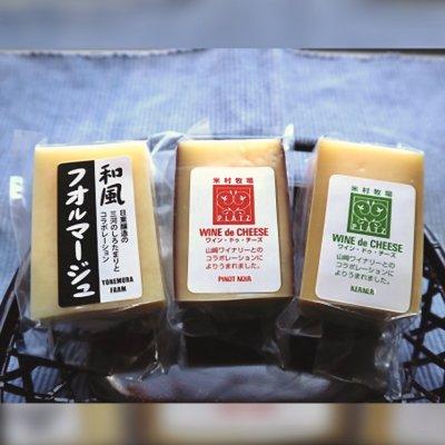 ◇◆米村牧場チーズ工房◆◇ 『とろけるチーズ 3種セット』【冷蔵クール便...