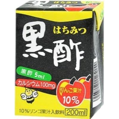 はちみつ黒酢【熊本の新生企画・全国お取り寄せ通販】大分のヨーグルトン乳業のおいしいジュース(10ケース=160本)