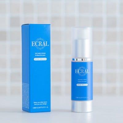 サンシールドクリーム(日焼け止めゲルクリーム) ECRAL Sun Shield Cream(sunscreen gel cream)/内容量:35g