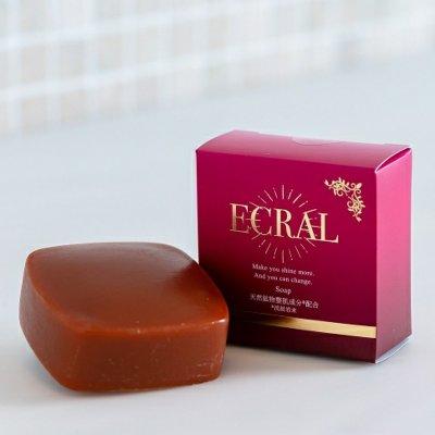 モイスチャーソープ(石鹸) ECRAL Soap (soap)/内容量:約100g