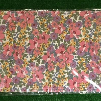 木糸・花柄ピンクランチョンマット