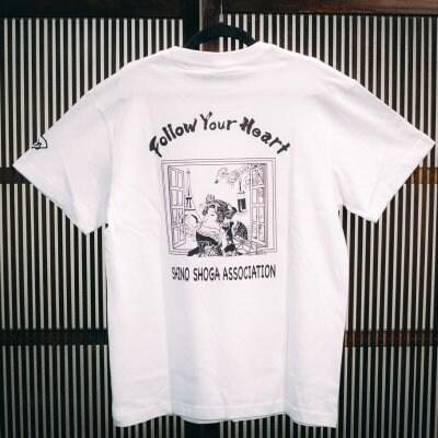 ホワイト トレンドの現代風【浮世絵Tシャツ】高ポイント還元・送料無料...