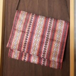 サコッシュ|名古屋帯で作った2WAYバッグ