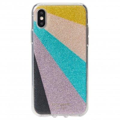 ケイトスペード(kate spade)iPhone XS / X ケース - ラディエーティング・グリッター
