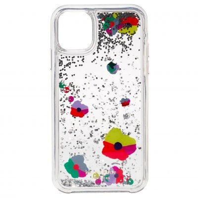 ケイトスペード(kate spade)iPhone 11 リキッドグリッターケース - コラージュ・リキッドグリッター