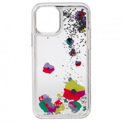 ケイトスペード(kate spade)iPhone 11 PRO リキッドグリッターケース - コラージュ・リキッドグリッター