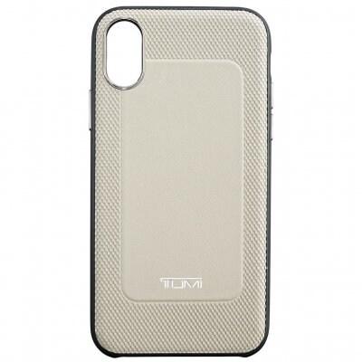 トゥミ(TUMI)iPhone XS / X レザーケース(グレー)