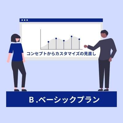 【ツクツク専門:オリジナルカスタマイズ制作】B.ベーシックプラン