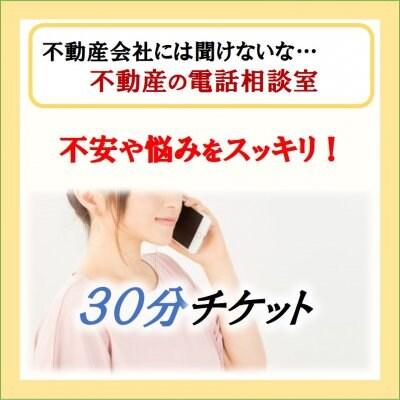 不動産の電話相談室 30分チケット 悩み・不安編
