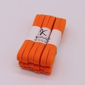 橙カラー[数量限定]Kushuleパーフェクトシューレース|サッカースパイク用