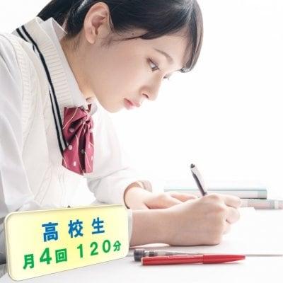 高校生家庭教師/お月謝/月4回チケット/120分(現地払い専用)