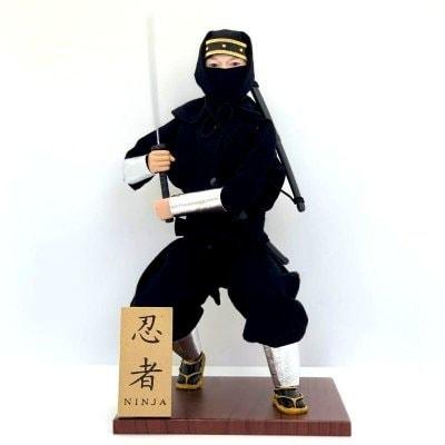 京みやげ/日本人形/忍者NINJA DOLL