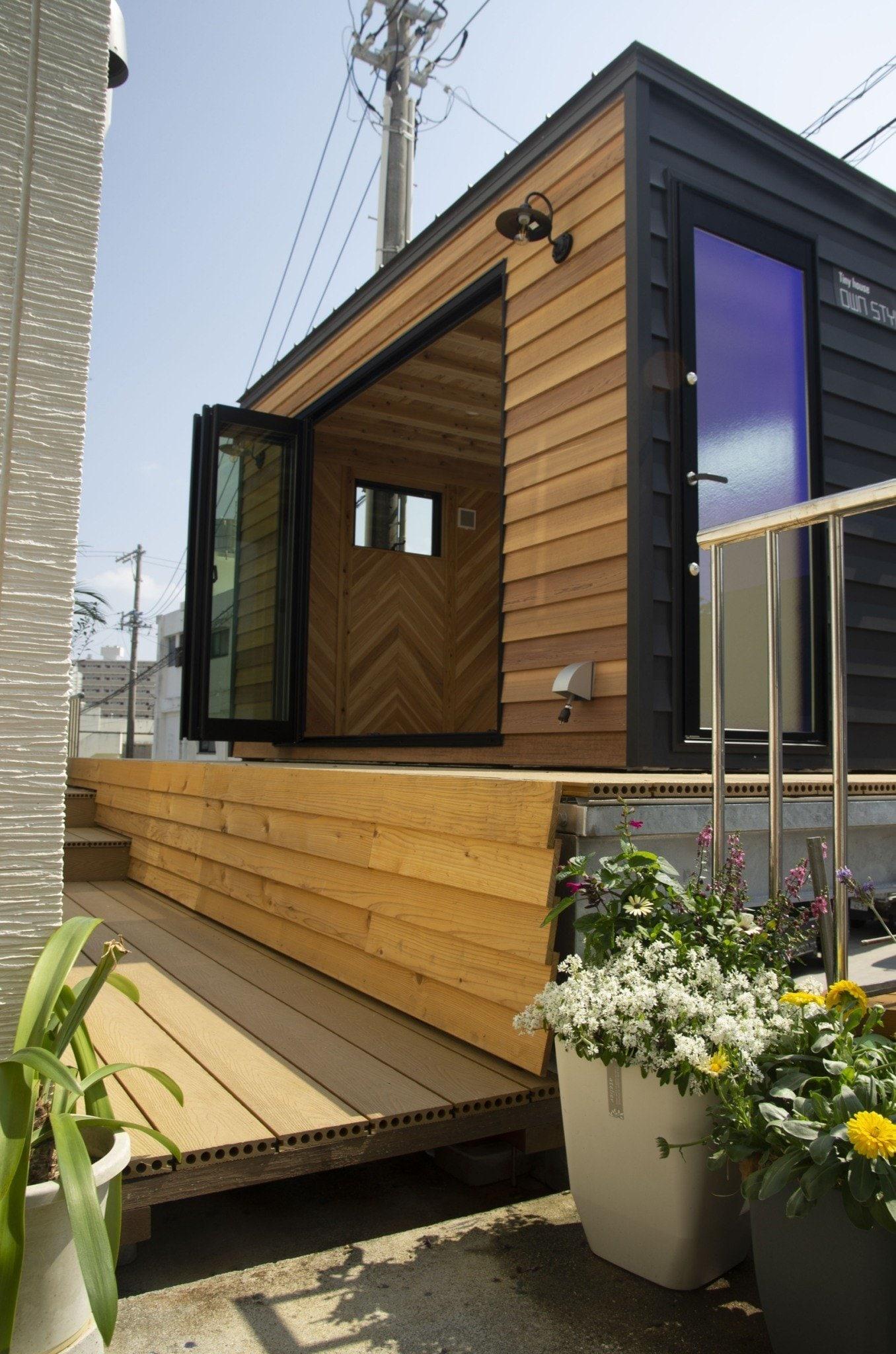 【M様専用】木造タイニーハウスHEYA|本体(移動費、オプション別途)|D2,400 × W4,200 × H2,600mmのイメージその4