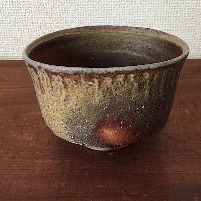 焼き締め茶碗