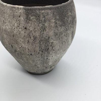 【植木鉢】炭化