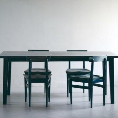 【お買い得】AIJUダイニングセット チェアー4脚とW150テーブルのセット...