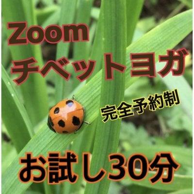 Zoomチベットヨガ 【完全予約制】お試し30分