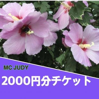 2000円分ウェブチケット