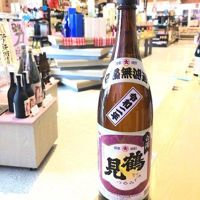 『鹿児島県』大石酒造(株) 白濁無濾過 鶴見 1.8L 25度 芋焼酎