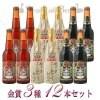 金賞受賞ビール3種  12本ビールセット