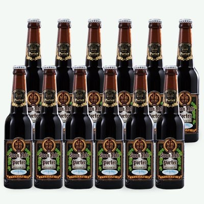 【父の日人気ナンバー1】金賞世界一受賞!! 黒ビールポーター 12本セット