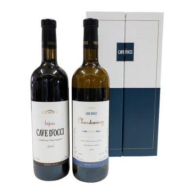 【新潟人気ワイン】 新潟カーブドッチワイナリー 熟成ワイン赤・白セット。