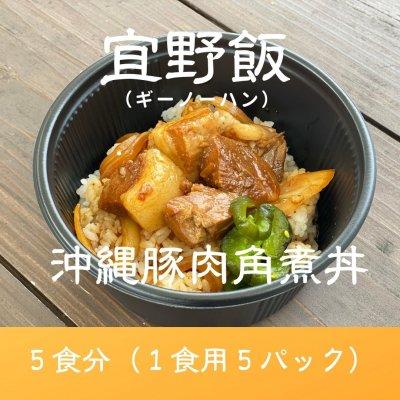 【5食分】島豚ごろごろ宜野飯(ギーノーハン)