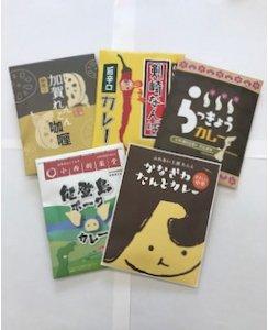 GOTO地カレー物語 180g×4個 + 190g×1個 計5個入り1箱|石川県金沢市