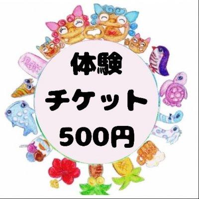 【現地払い専用】体験用チケット500円