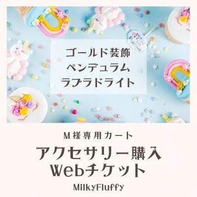 【M様専用】アクセサリー購入Webチケット