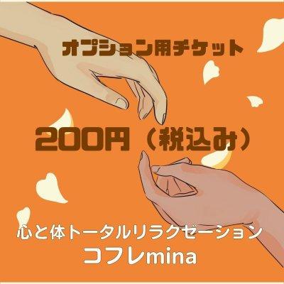 オプションチケット 200円