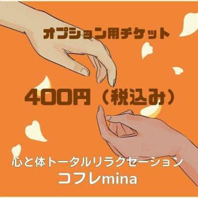 オプションチケット 400円