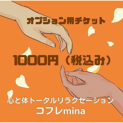 オプションチケット 1000円