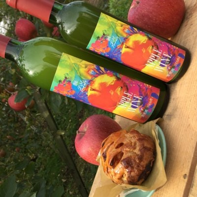 完熟りんごワイン(750ml×1本)Alc8%