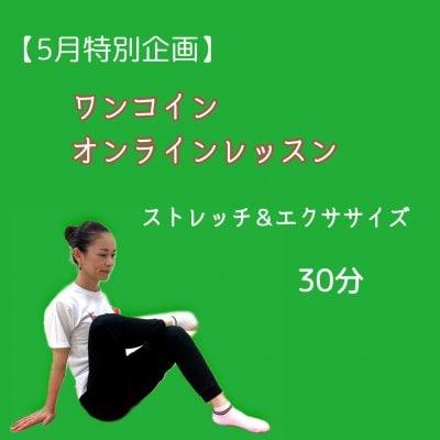 【特別企画】ワンコインオンラインレッスン ストレッチ&エクササイズ 水曜日