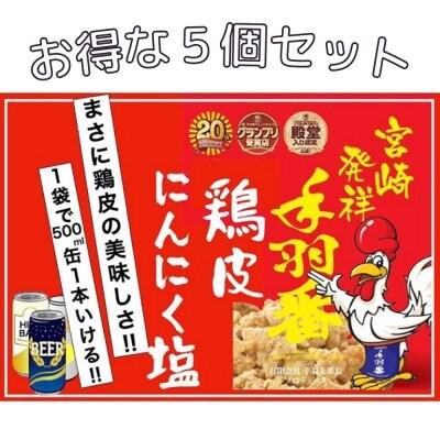 ビールに最高🍺おつまみ、おやつに!《お得な5個セット》《送料無料》丨鶏皮チップ丨鶏皮揚げ