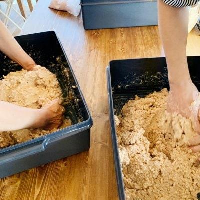 3月13日(土)【現地払いのみ】約5.5kgお持ち帰り 麦味噌仕込みレッスン