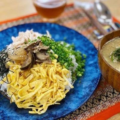 9月10月【現地払いのみ】自家製白だしと鶏飯(けいはん)レシピ