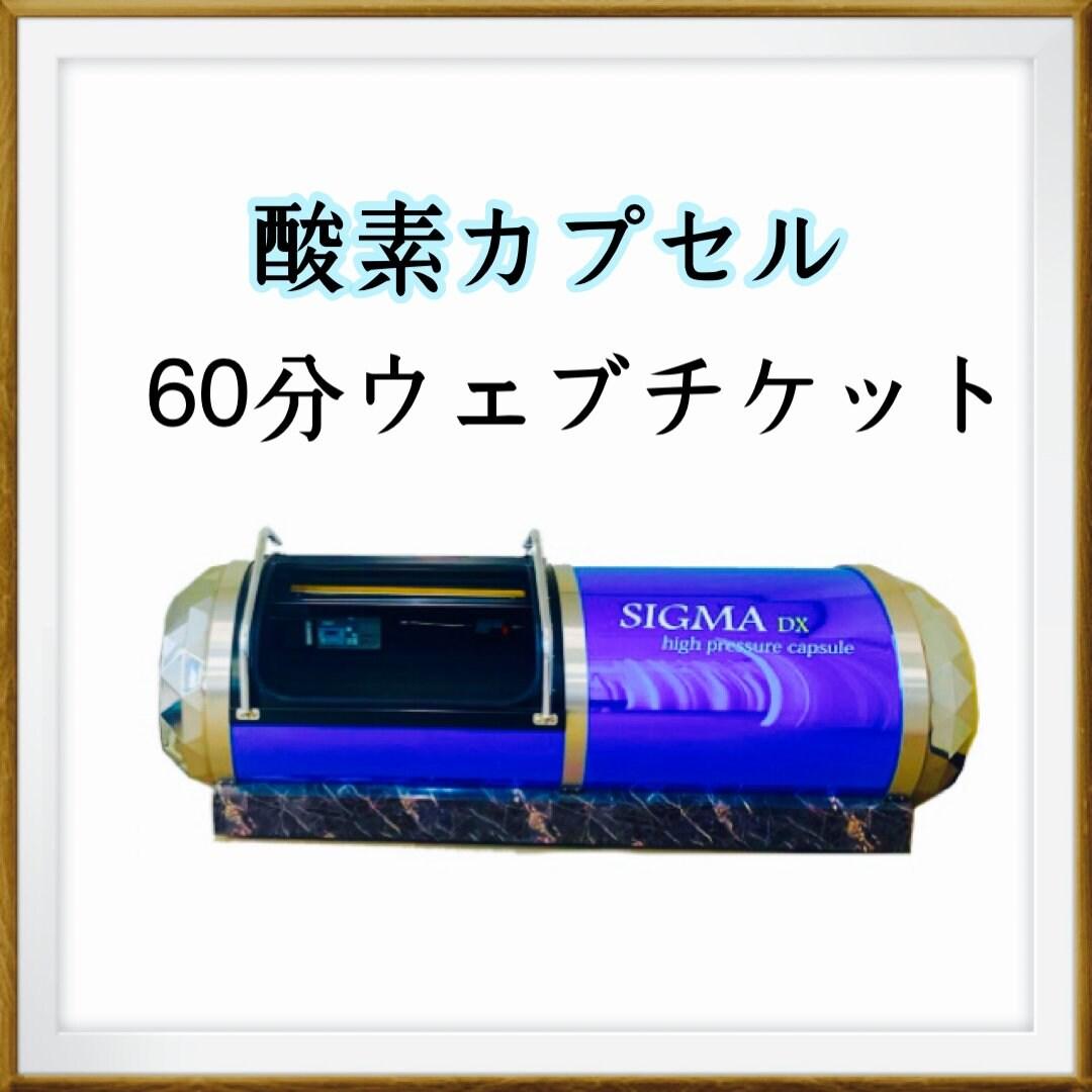 酸素カプセル60分のイメージその1