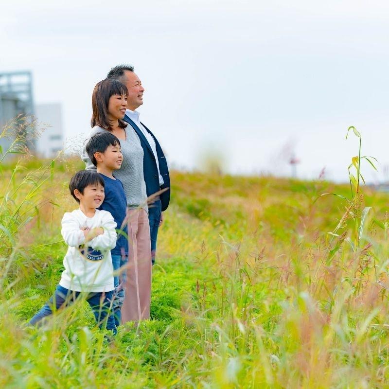 家族の記憶を記録として残す家族写真撮影のイメージその1
