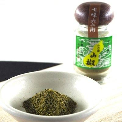 山椒瓶入10g/京都七味屋七味六兵衛