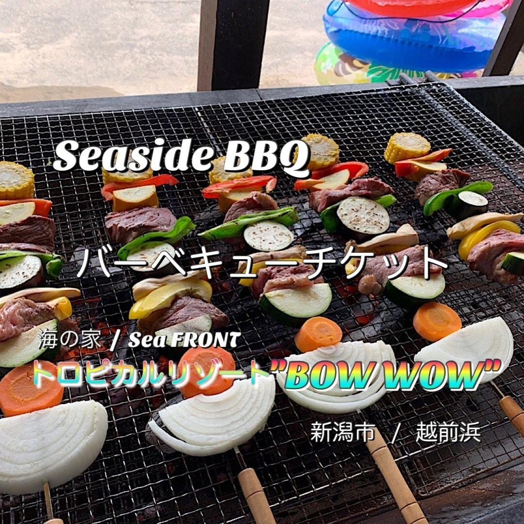 BBQ/バーベキュー食材肉1人前セットチケットのイメージその1