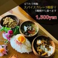 【Foodチケット】スパイスカレー3種類セット