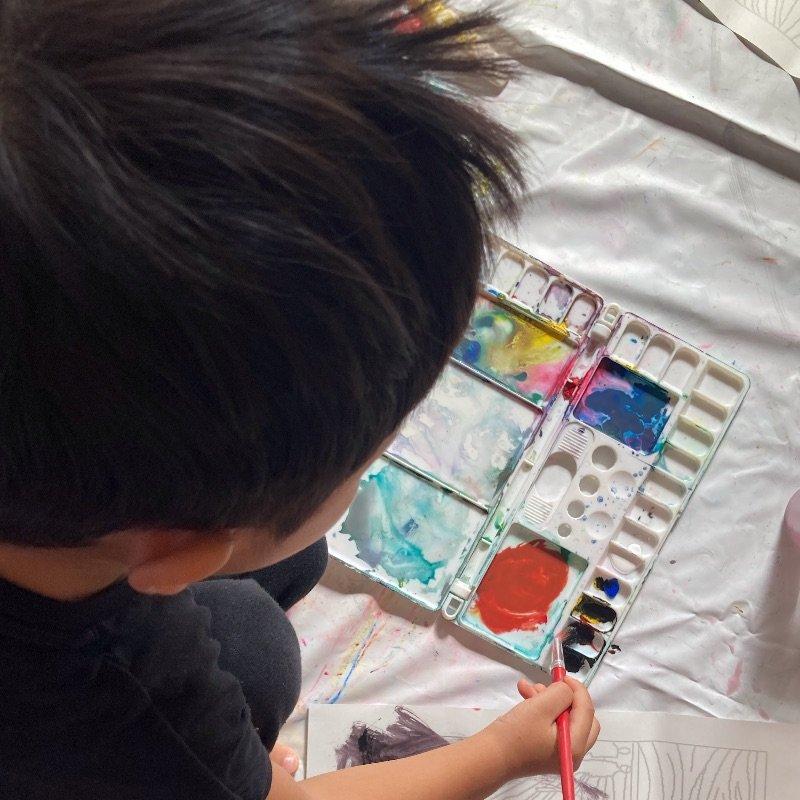 色彩知育体験レッスンのイメージその1