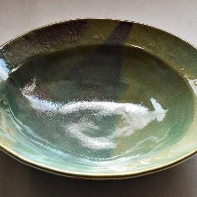 辰砂釉深鉢
