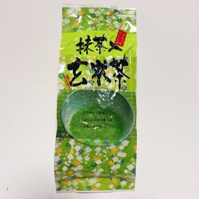 【当店人気!オリジナルブレンド】抹茶入玄米茶 200ℊ