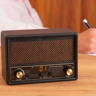 唱歌ラヂオDX100AM/FMシンプル操作のラジオ付き音楽プレイヤー